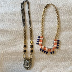 J. Crew necklaces (set of 2)